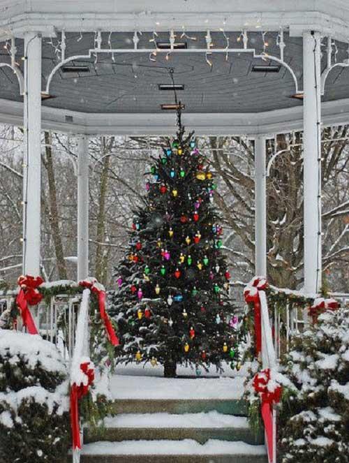 الاچیق زمستانی کریسمس
