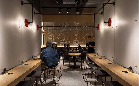 دکوراسیون رستوران کوچک