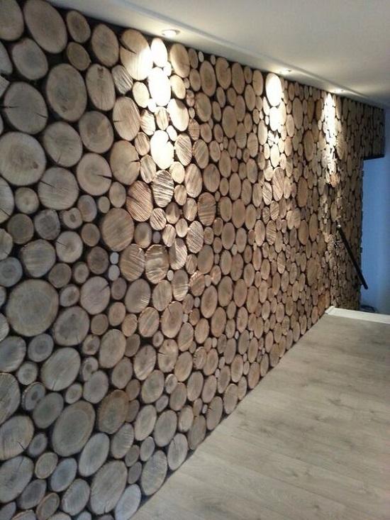 دیوار چوبی