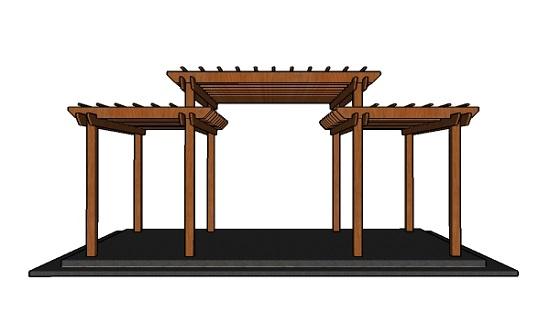 آموزش ساخت پرگولا چوبی