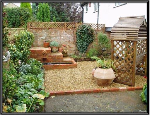 طراحی حیاط