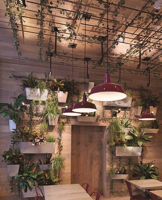 طراحی سقف رستوران