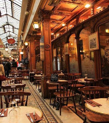 طرح ورودی رستوران و کافی شاپ