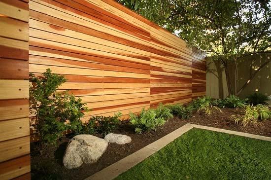 پرچین چوبی