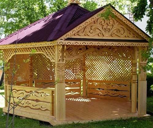 مدل آلاچیق چوبی