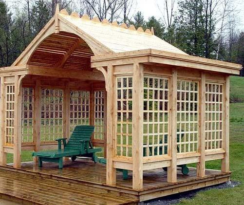 مدل آالاچیق چوبی