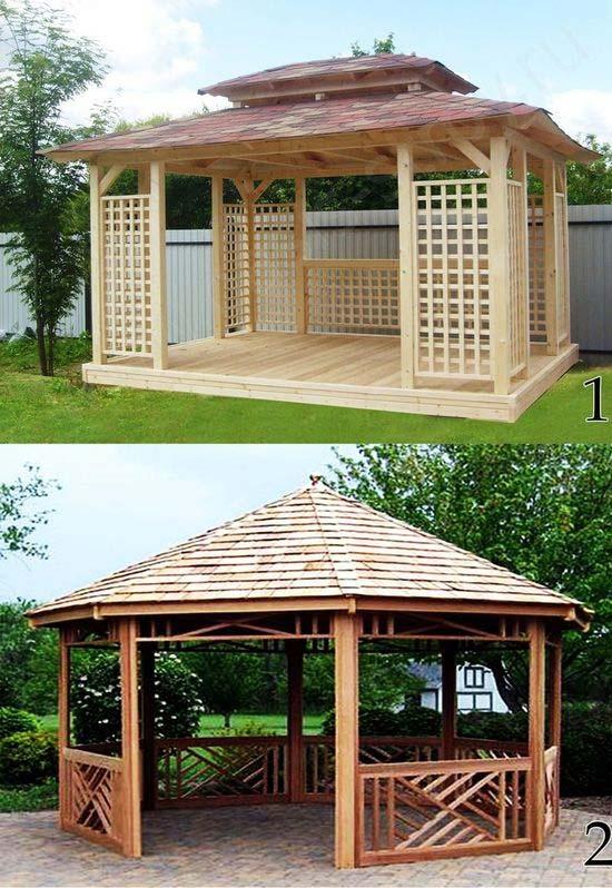آلاچیق چوبی پیش ساخته