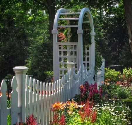 ساخت ورودی باغ